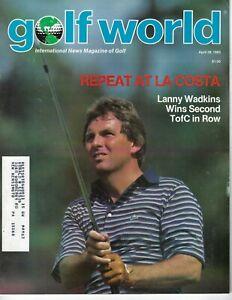 1983 4/29 Golf World magazine Lanny Wadkins VG