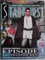 STAR WARS EPISODE 1 THE PHANTOM MENACE  Starburst No. 252 + COLLECTORS CARDS