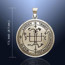 Sigil of the Archangel Gabriel Bronze Pendant Amulet Talisman