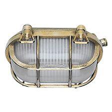 Bateau Lampe Massif Laiton 1 x e27/60w ip44 * MORETTI