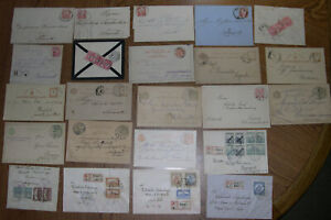 HUNGARY 1871-1924 lot of 23x Covers Postal History HZ8