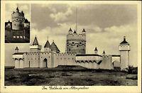 Altengrabow Dörnitz Möckern Sachsen-Anhalt Jerichower Land AK 1938 Burg Gebäude