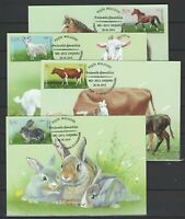 Moldova 2019 Domestic Animals Maximum Card