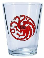 Game of Thrones House Targaryen Shot Glass (set of 4)