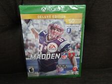 Madden NFL 17: Deluxe Edition (Microsoft Xbox One, 2016) NEW!
