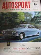 Autosport 18th décembre 1964 * Bahamas vitesse semaine & angloa Grand Prix *