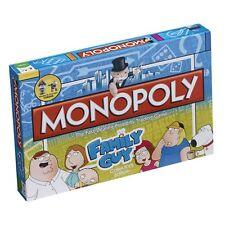 Family Guy Monopoly Edizione per Collezionisti GIOCO DA TAVOLO SIGILLATO Nuovo di zecca e