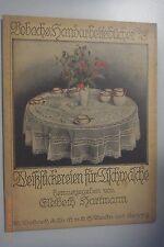 Weißstickereien für Tischwäsche /Vorbachs Handarbeitsbücher Band 40/ E.Hartmann