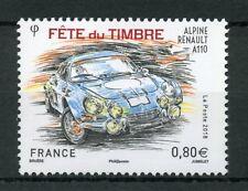 France 2018 MNH Stamp Day Alpine Renault A110 1v Set Cars Stamps