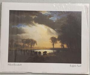 Wall Art 8 x 10 Albert Bierstadt~Buffalo Trail Print. Ready To Frame