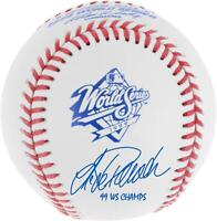 "Jorge Posada NY Yankees Signed 1999 World Series Baseball & ""99 WS Champs"" Insc"