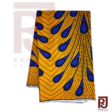 African Fabric Ankara Wax Textile Print Wholesale Cloth African Art 6 yards