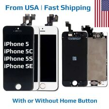 Replacement LCD Touch Digitizer Screen Assembly for Apple iPhone 5 5C 5S SE