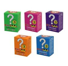 Ty Beanie Mini Boos Series 3 Hand-painted 5-pack Blind Collectible Figurines New