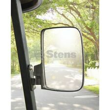 SIDE MIRRORS Universal Fit Golf Carts and UTV Rangers Includes (2)