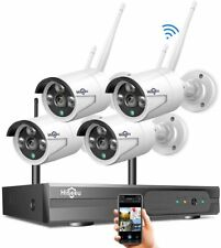 1080p 8Ch Hdmi Nvr 4 720p Wireless Home Video Security Camera System No Hdd- Us
