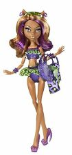 MONSTER HIGH CLAWDEEN WOLF Swim DOLL bambola da collezione raro cbx54