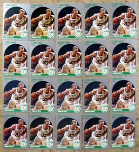 Larry Bird 1990 NBA Hoops #39 20ct Card Lot