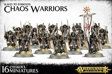 Chaos Warriors Slaves to Darkness SAME DAY SHIP Warhammer Age of Sigmar NEW