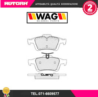 1428 Kit pastiglie freno a disco post.Chevrolet-Ford-Opel-Saab (MARCA-WAG)