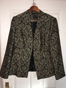 Women M&S embellished blazer size 14