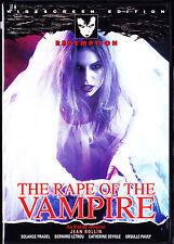 The Rape of the Vampire (DVD, 2002) NEW