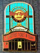 2017 HARD ROCK CAFE NEW YORK BROADWAY / CAFE / PARAMOUNT HOTEL FACADE PIN