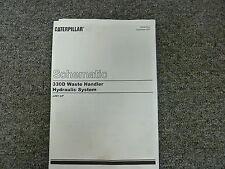 Caterpillar Cat 330D Waste Handler Hydraulic System Schematic Diagram Manual