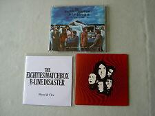 THE EIGHTIES MATCHBOX B-LINE DISASTER job lot of 3 promo CDs Blood & Fire