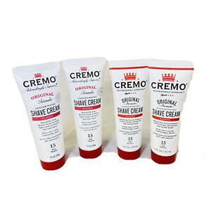 4 Pack Cremo Men's Shave Cream - 1 fl oz Original Formula - Barber Grade