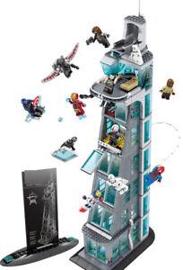 1209PCS Avengers Tower Building Blocks Bricks Figures Toy Model Set
