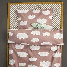 Ferm Living Cloud Literie Parure de lit couleur rose taille bébé 70 cm x 100 cm