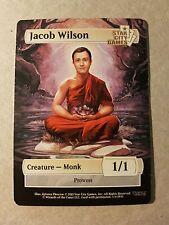 SCG Jacob Wilson (1/1) Monk Token - Star City Games MTG Magic the Gathering