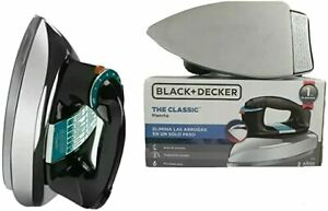 NEW!! Black & Decker Heavyweight Classic Iron Dry Clothing Flat Iron model F54