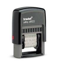 Bureau trodat Printy 4822 multi mot cachet 12 mots de 4mm fournitures de bureau
