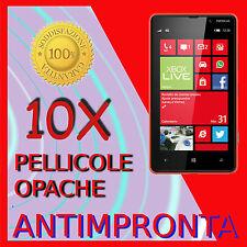 10 Pellicola Per NOKIA LUMIA 820 Opaca Proteggi Display Schermo LCD Pellicole