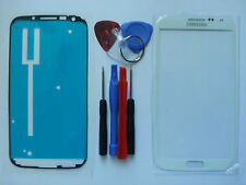 Samsung Galaxy Note 2 White Genuine Glass Replacement Screen Lens Tools+Adhesive
