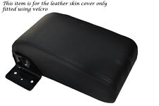 BLACK STITCH FITS MITSUBISHI L200 WARRIOR K741998-2005 REAR ARMREST LTHR COVER