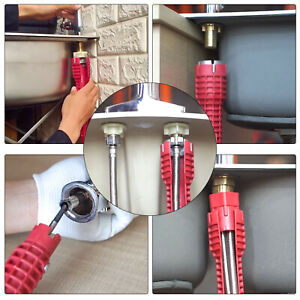 Multifunction Sink Basin Faucet Wrench Sink Install Tap Spanner Installer Tools