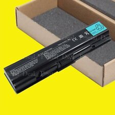 6 CELL BATTERY 4 TOSHIBA L300 PA3533U-1BRS PA3534U-1BAS