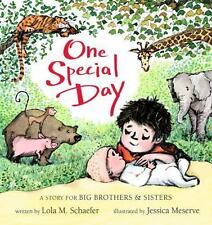 One Special Day A Story for Big Brothers and Sisters