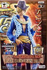 ONE PIECE DXF GRANDLINE MEN 15TH EDITION SANJI FIGURA FIGURE NEW NUEVA