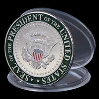 US 45th President Donald Trump Commemorative Coin Collection Gifts Souvenir