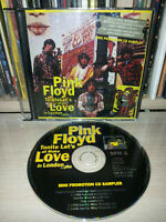 CD PINK FLOYD - TONITE LET'S ALL MAKE LOVE IN LONDON… PLUS - PROMO SAMPLER