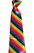 Unisex LGBT Gay Pride Rainbow Fancy Dress Accessories Festival Freedom Party Set Neck Tie