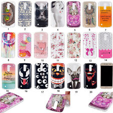 For LG K7/K10/V10 Ultra thin soft TPU Cover Silicone Shockproof Phone Back Case