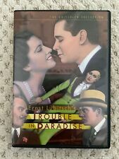 Trouble in Paradise - Criterion Collection DVD - great condition