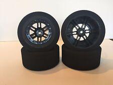 Slash short course and slash truck tires Foam Tires Black