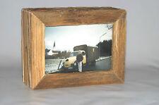 Altholz Bilderrahmen Upcycling Landhaus Fotorahmen Standrahmen 9 x 13 vintage
