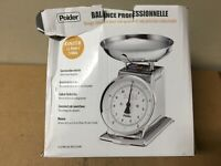 Polder Professional 11-Pound Stainless Steel Kitchen Scale SHELF PULL